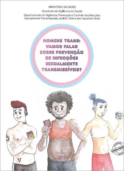 Cartilha Homens Trans - Vamos Falar Sobre Prevenção de IST